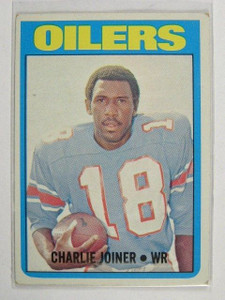 1972 Topps Charlie Joiner rc rookie #244 VG *22413