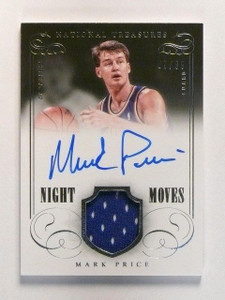 13-14 National Treasures Night Moves Mark Price autograph jersey #D87/99 *46130