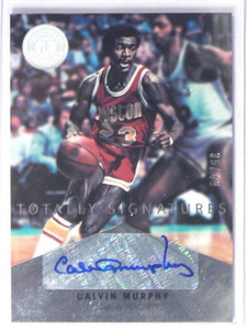 12-13 Totally Certified Signatures Calvin Murphy auto autograph #D35/49 *40068