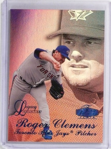 1998 Flair Showcase Legacy Collection Row 3 Roger Clemens #D68/100 #21 *59315