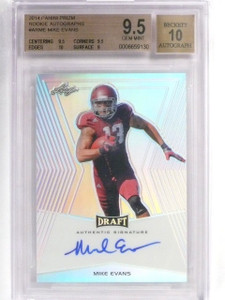 2014 Leaf Metal Draft Mike Evans Autograph auto rc BGS 9.5 Mislabeled *57649