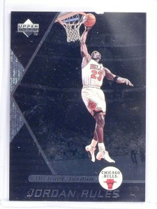 1998-99 Upper Deck Ovation Jordan Rules Michael Jordan #J8 *58357