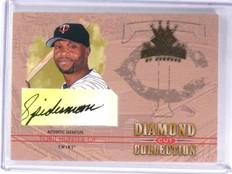 2004 Donruss Diamond Kings Diamond Cut Torii Hunter Autograph auto #D25/25 *5932