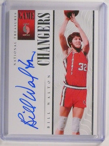 13-14 National Treasures Game Changers Bill Walton autograph auto #d51/60 *51802