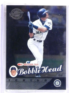 2001 Donruss Class of 2001 Ichiro Bobble Head Rookie RC #D1031/2000 #1 *58089