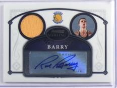 07-08 Bowman Sterling Rick Barry auto autograph jersey #32 *36887