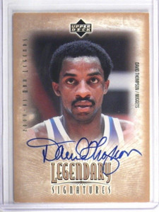 00-01 Upper Deck Legendary Signatures David Thompson auto autograph #DT *33856