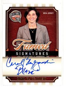 09-10 Panini Hall Of Fame Sigs Carol Blazejowski auto autograph #D739/899 *27685