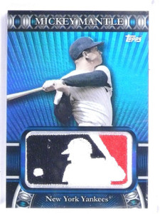 2010 Topps Manufactured MLB Logoman Mickey Mantle Patch #D13/50 #LM58 *58279