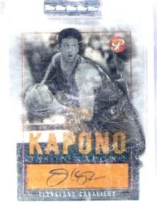 2003-04 Topps Pristine Personal Endorsements Jason Kapono Autograph #D21/25 *634