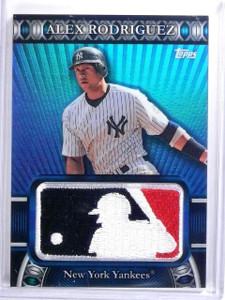 2010 Topps Manufactured MLB Logoman Patch Alex Rodriguez #D43/50 #LM55 *59665
