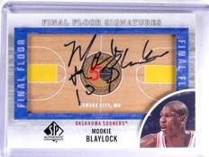 2012-13 SP Authentic Final Floor Signatures Mookie Blaylock Autograph #FFMB *633