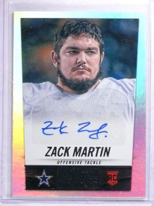 2014 Panini Hot Rookies Zack Martin Rookie Autograph #440 *64216