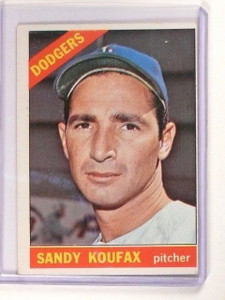 1966 Topps Sandy Koufax #100 VG-EX *46494