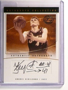 03-04 Flair Final Edition Andrei Kirilenko autograph auto #D90/98 *46768