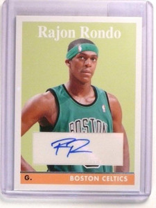 08-09 Topps 1958-59 Variations Rajon Rondo autograph auto #65 *46166