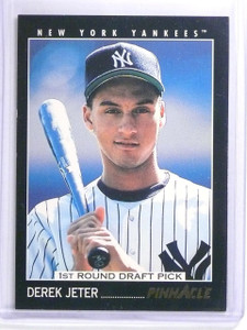 1993 Pinnacle Derek Jeter Rookie RC #457 *63505