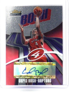 03-04 Topps Finest Chris Bosh auto autograph rc rookie #D940/999 #157 *36059