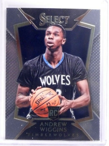 2014-15 Panini Select Andrew Wiggins Rookie RC #100 Timberwolves *53843