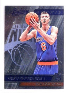 2015-16 Absolute Basketball Kristaps Porzingis Rookie RC #D351/999 #198 *53793