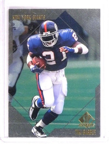 1997 SP Authentic Tiki Barber Rookie RC #137 *51398