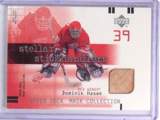 2001-02 UD Mask Collection Sticks Dominik Hasek Stick #SSDH *59392