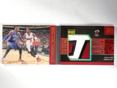 2015-16 Panini Preferred Stat Line Dwyane Wade Patch Book #D02/25 #SLDW *57691