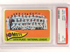 1965 Topps Mets Team #551 PSA 4 VG-EX *46285