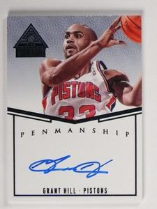 14-15 Panini Paramount Penmanship Grant Hill autograph auto #d24/25 *48741