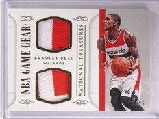 2014-15 National Treasures Bradley Beal NBA Game Gear Patch #D16/25 #GGDBB *5439