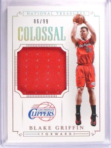 2014-15 National Treasures Blake Griffin Colossal Jersey #D86/99 #7 *53890