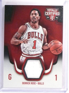 2015-16 Panini Totally Certified Derrick Rose Jersey Red #D153/199 #TCMDR *52568