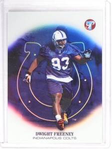 2002 Topps Pristine Dwight Freeney Rookie RC Refractor #D503/999 #126 *49754
