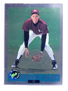 1992 Classic Draft Picks Foil Bonus Derek Jeter Rookie RC #BC6 *63249