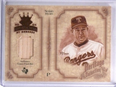 2004 Diamond Kings Heritage Collection Nolan Ryan Bat #D07/25 #HC14 *59450