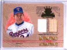 2004 Donruss Diamond Kings Diamond Cut Nolan Ryan Bat Jersey #D26/34 #DC48 *5947