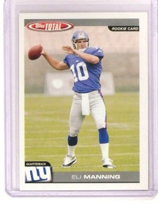 2004 Topps Total Eli Manning Rookie RC #350 New York Giants NYG *44984