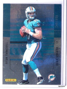 2012 Panini Father's Day Ryan Tannehill rc rookie #D149/499 #3 *43209