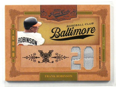 2008 Playoff Prime Cuts Icons Frank Robinson jersey #D5/5 *41104