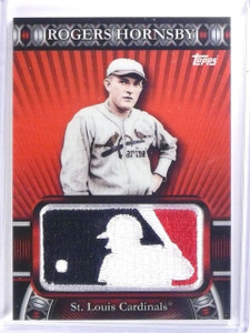 2010 Topps Manufactured MLB Logoman Patch Rogers Hornsby #D14/50 #LM60 *59671