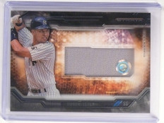 2015 Topps Strata Clearly Authentic Relics Derek Jeter jersey #CARC-DJ *52315