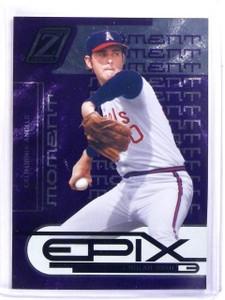 2005 Zenith Epix Moment Purple Nolan Ryan #D16/100 #E24 *59575