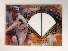 2015 Topps Tribute Orange Chris Sale jersey #D17/75 #DC-CS *51974