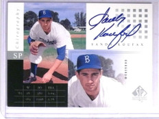2000 Sp Authentic Chirography Sandy Koufax autograph auto #SK *67630