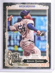 2017 Topps Gypsy Queen Black Border Parallel Aroldis Chapman #230 #D 1/1 *67676
