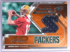 2005 SPX Swatch Supremacy Aaron Rodgers rookie jersey #RS-AR *67723
