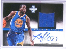 2013-14 Panini Innovation Digs Draymond Green autograph jersey #D69/199 *67725