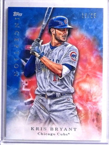 2017 Topps Inception Blue Parallel Kris Bryant #D19/25 #38 *67727