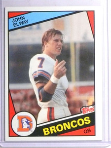 1984 Topps John Elway rc rookie #63 EX *67729