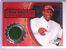 2003-04 Upper Deck Hardcourt Lebron James rookie Floor rc #LB4 *67735